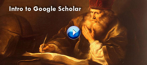 Image: Screenshot of a scholar using a quill from tutorial (linked)