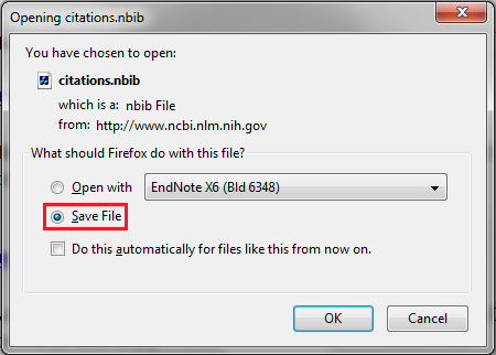 Save Citations to File