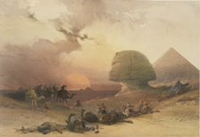 The Sphinx, from drawing by David Roberts
