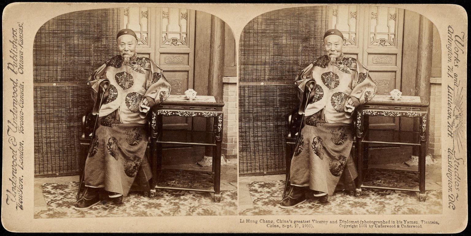 Photograph of Li Hung Chang, Chinese diplomat