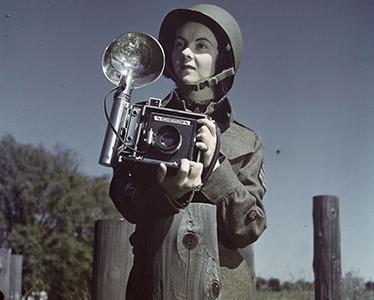 Sergeant Karen Hermiston 1944