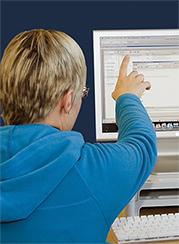 Library Deskside Training staff