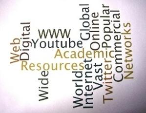 Words describing online information sources