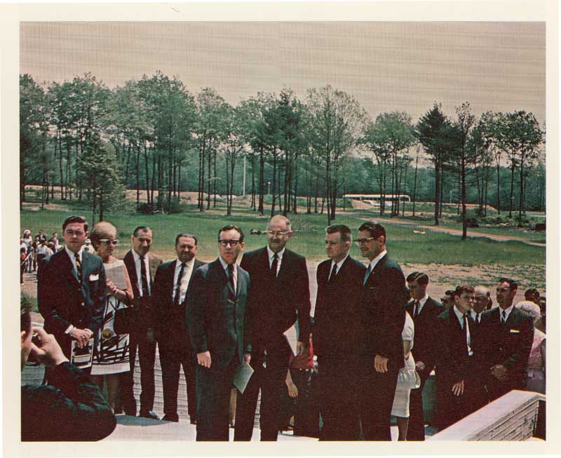 Dedication ceremony for SMTI campus in 1966.