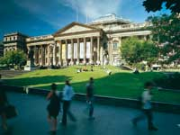State Library Victoria forecourt