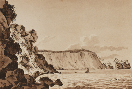 engraving of The Needles