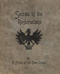 Cover of Rosicrucian pamphlet
