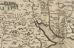 detail from map