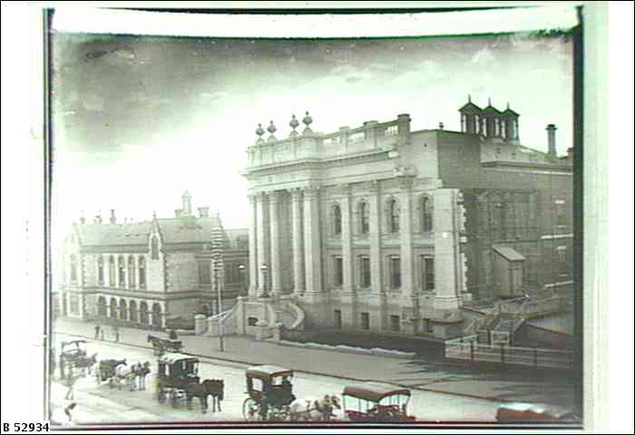 Parliament House, South Australia, 1905  (image B52934, State Library of South Australia)