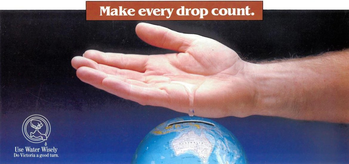 Make every drop count