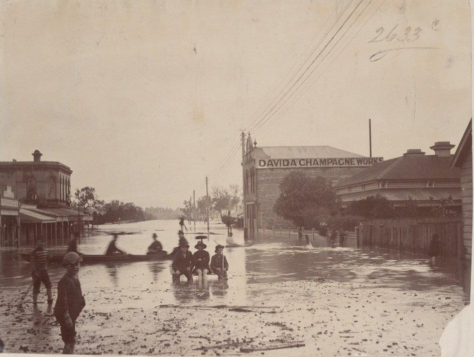 Richmond floods 1891