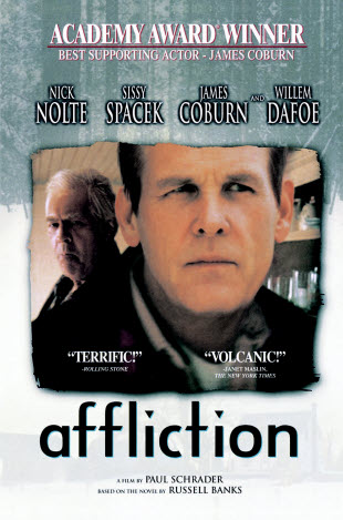 Affliction DVD cover