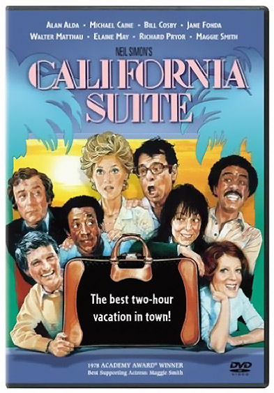 California Suite DVD cover