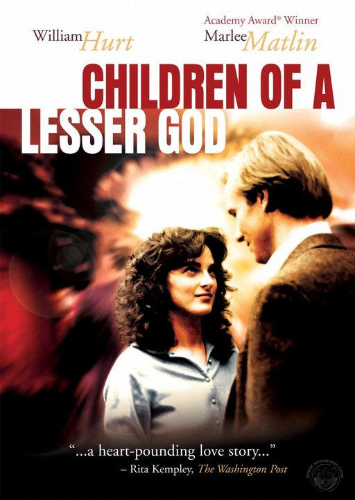 Children of a Lesser God DVD cover