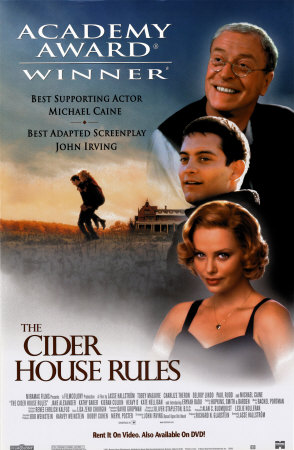 The Cider House Rules movie poster