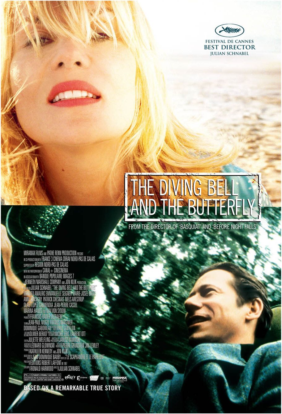 The Diving Bell and the Butterfly movie poster