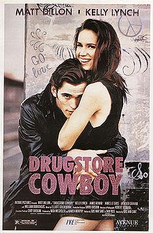 Drugstore Cowboy movie poster