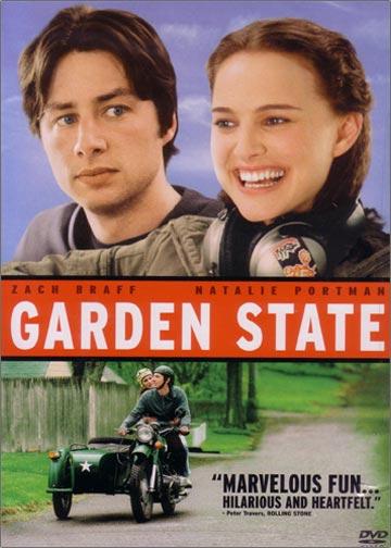Garden State DVD cover