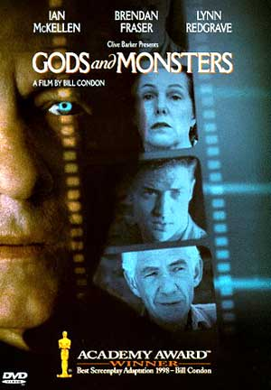 Gods and Monsters DVD cover