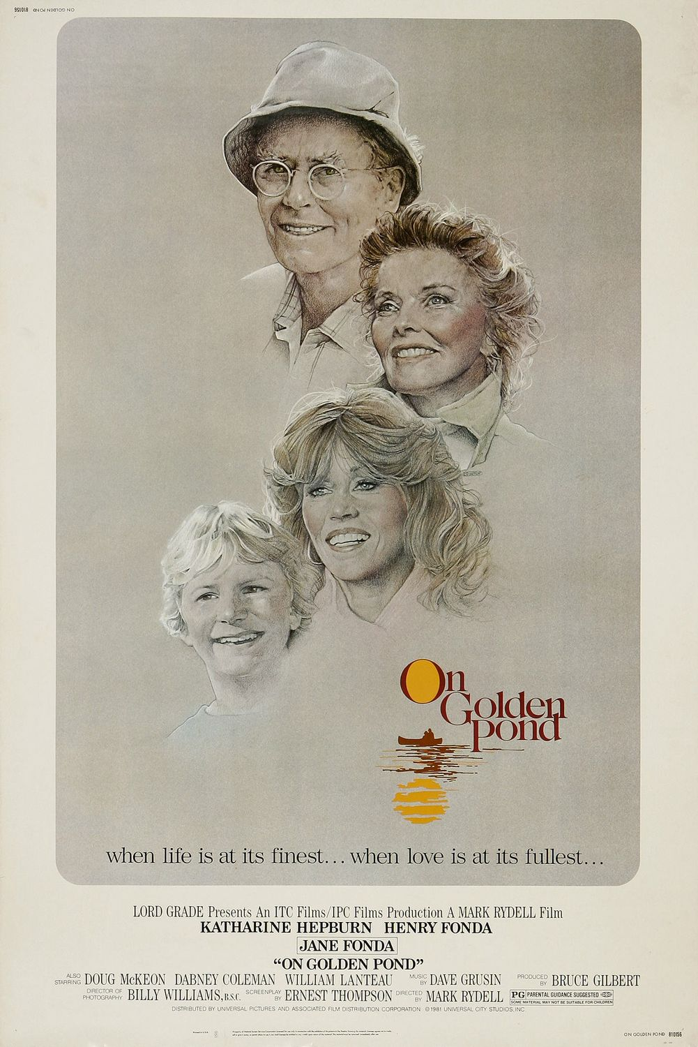 On Golden Pond movie poster