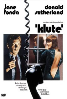 Klute DVD cover