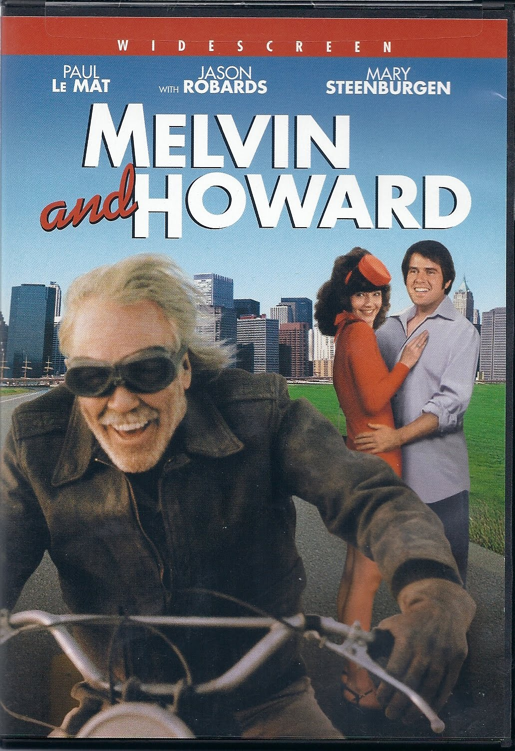 Melvin and Howard DVD cover