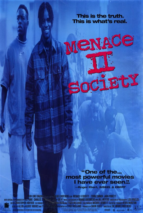 Menace II Society movie poster