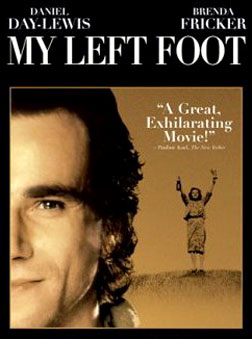 My Left Foot DVD cover