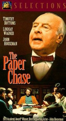 The Paper Chase DVD cover