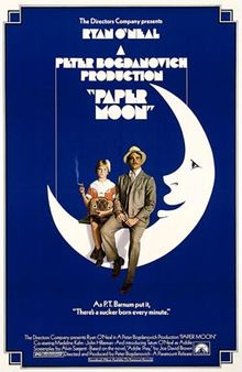 Paper Moon movie poster