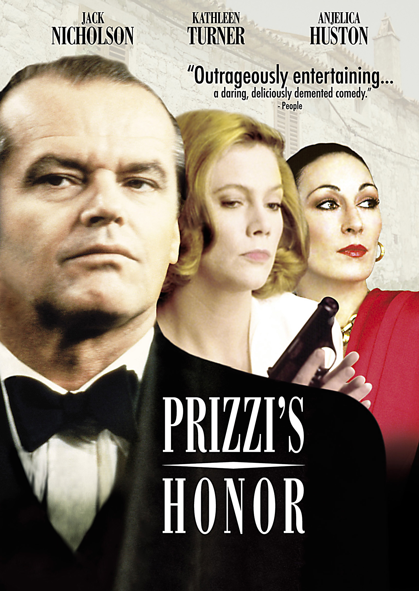 Prizzi's Honor DVD cover