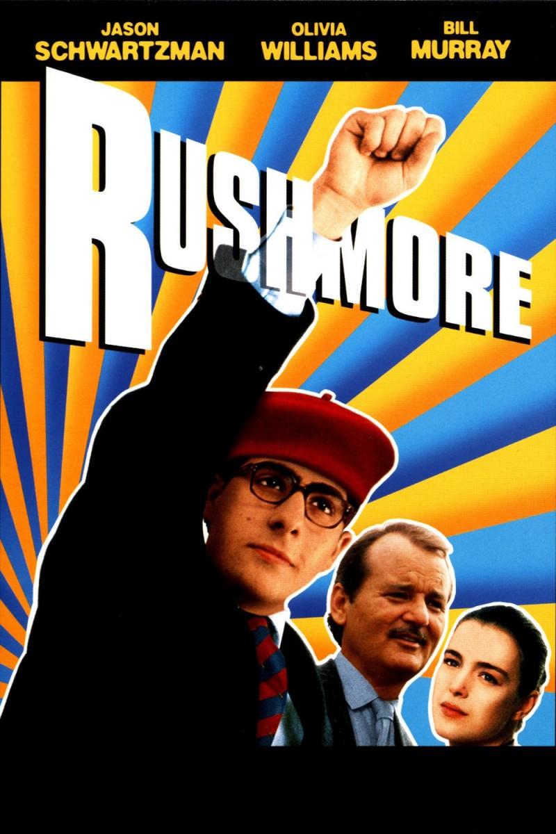 Rushmore DVD cover