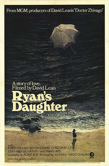 Ryan's Daughter movie poster