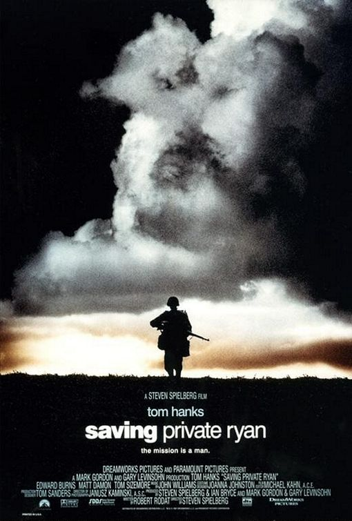 Saving Private Ryan movie poster