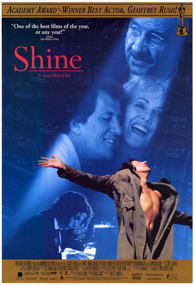 Shine DVD cover