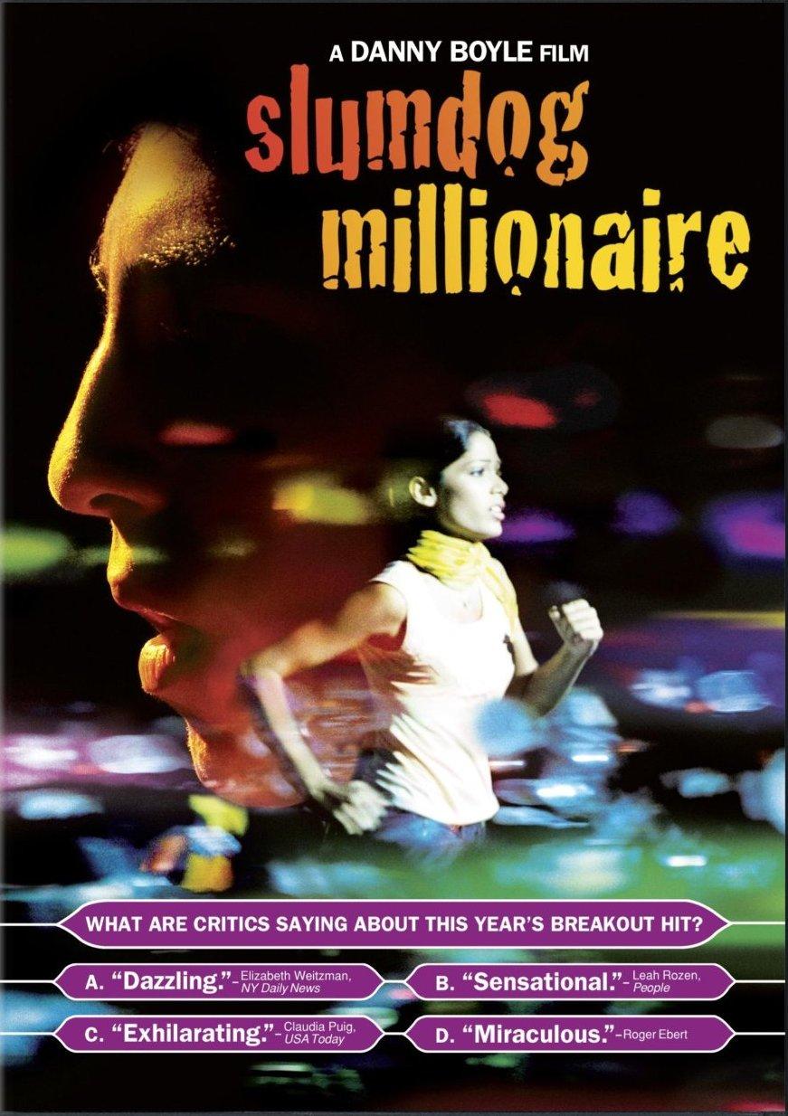 Slumdog Millionaire DVD cover