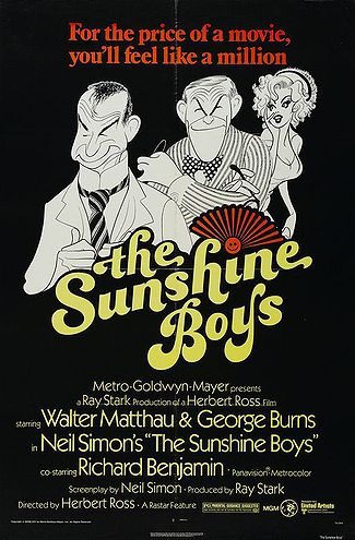 The Sunshine Boys movie poster