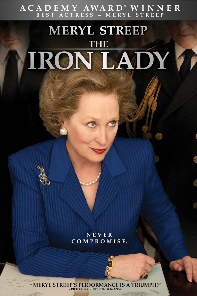 The Iron Lady DVD cover