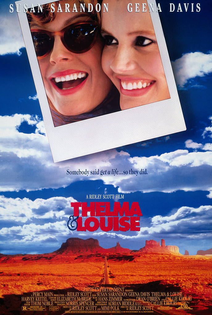 Thelma & Louise DVD cover