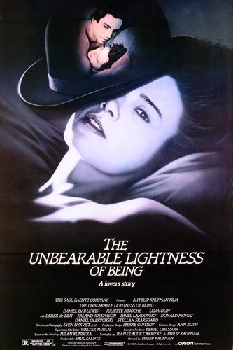 The Unbearable Lightness of Being movie poster