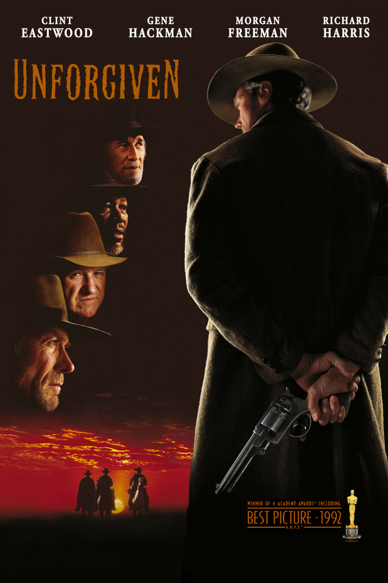 Unforgiven DVD cover