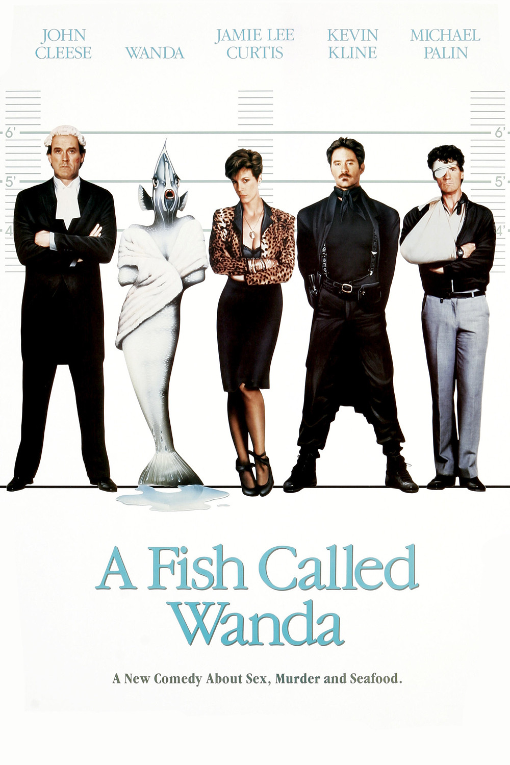 A Fish Called Wanda movie poster