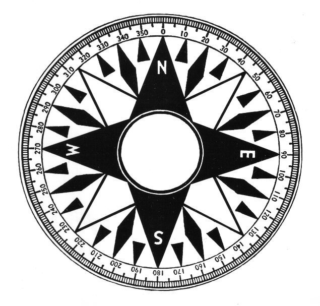 image of compass drawing