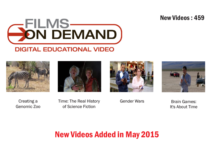 Film on Demand May Edition