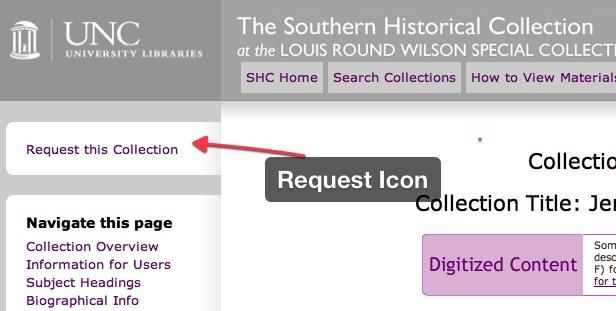 Request this Collection button