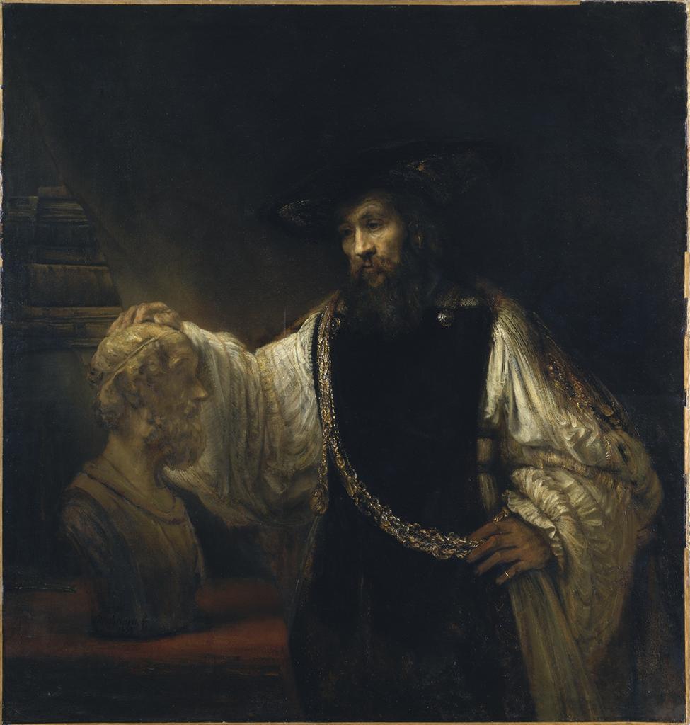 Artistotle. Rembrandt