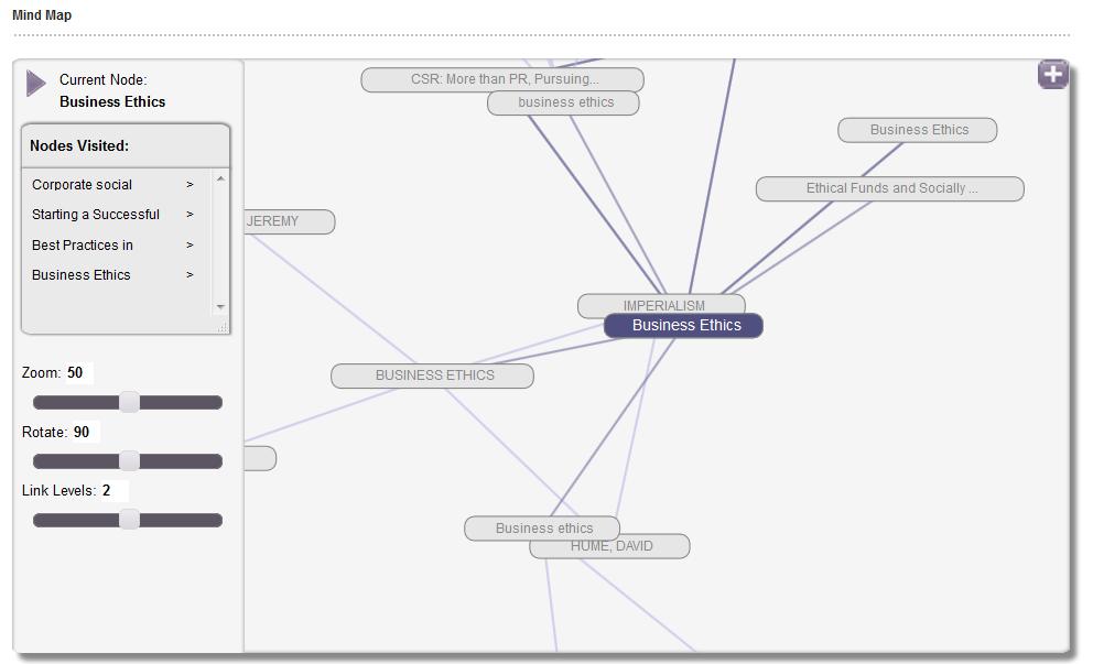 Mind Map Screenshot