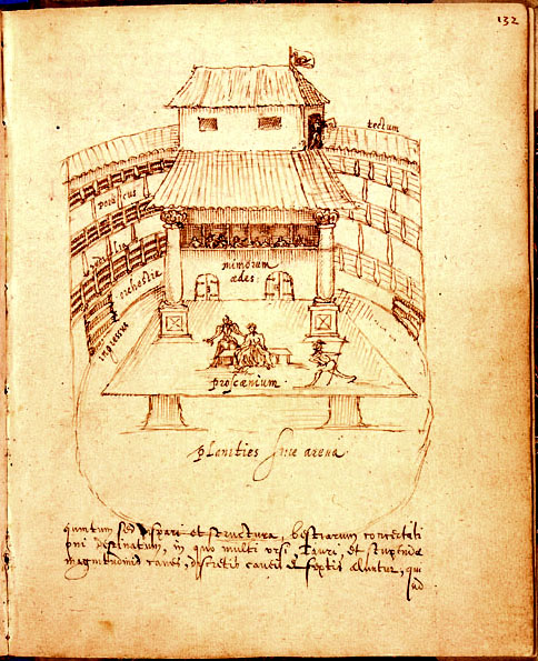 The Swan Theatre, 1596