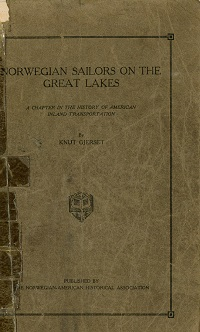 Cover of Norwegian Sailors on the Great Lakes