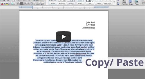 What is Plagiarism video screenshot
